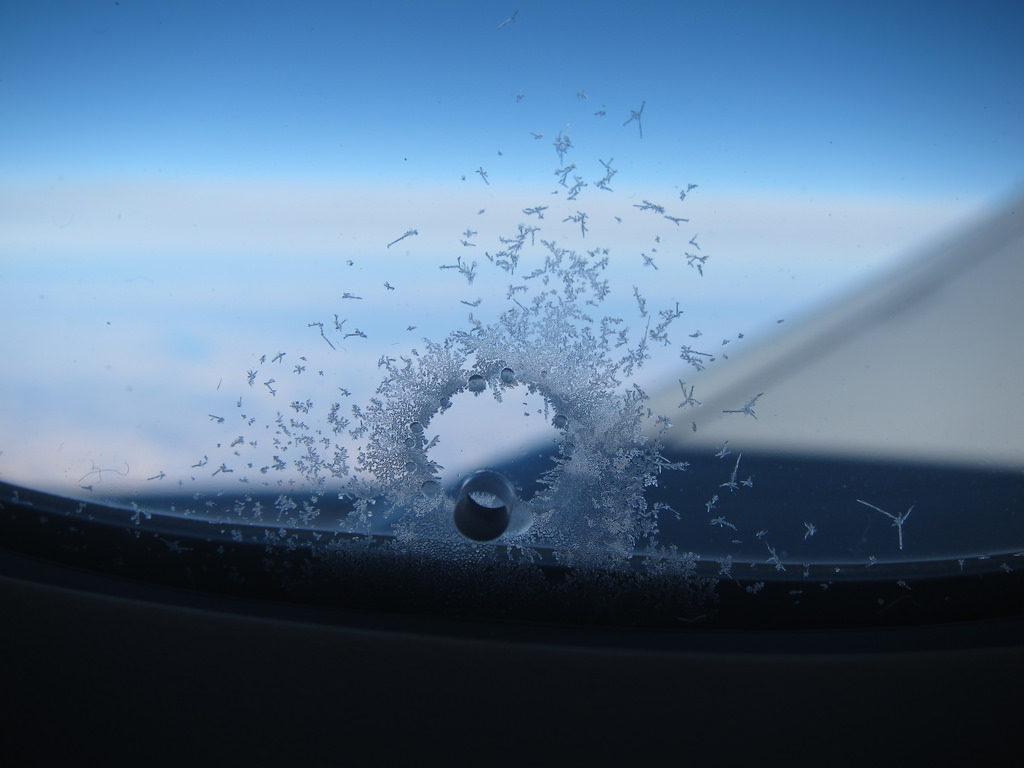 Bleed Holes Plane Windows