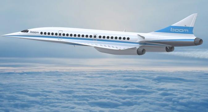 Boom Supersonics Jet