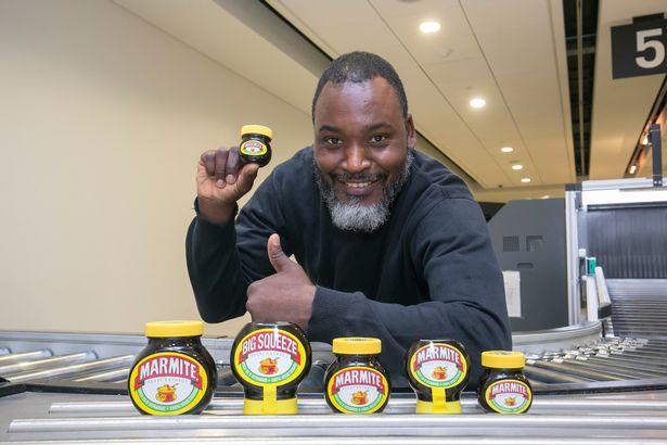 Various Sized Marmite Jars