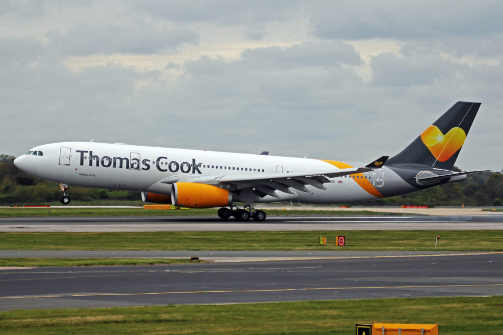Thomas Cook Plane Taking Off